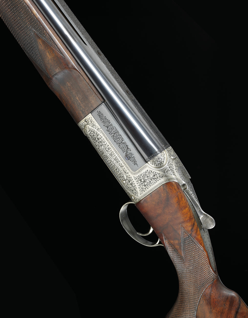 A FINE 12-BORE SINGLE-BARREL E