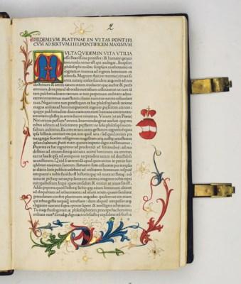 PLATINA, Bartholomaeus (1421-8