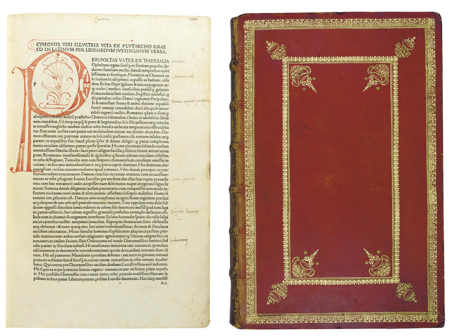 PLUTARCHUS (c. 45-c. 120). Vit