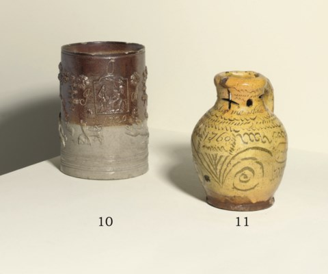 A WEST COUNTRY SLIPWARE DATED
