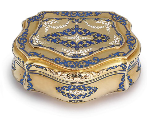 A GERMAN PARCEL-ENAMELLED GOLD