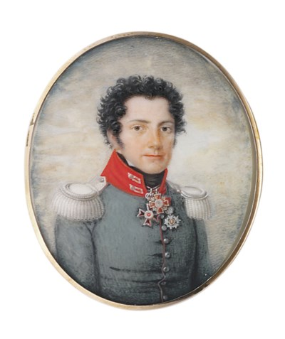 FRIEDRICH JAKOB HILL (GERMAN,