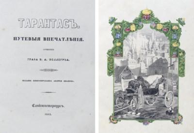SOLLOGUB, V. A., Count (1813-1