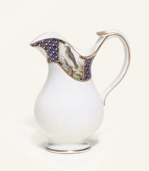 A TOURNAI BALUSTER JUG FROM THE DUC D'ORLEANS SERVICE