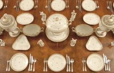 A VIENNA DINNER-SERVICE