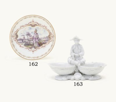 A VOLKSTEDT WHITE CHINOISERIE