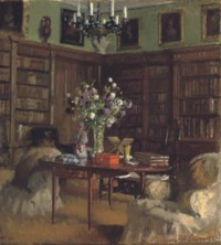The library at Tyninghame
