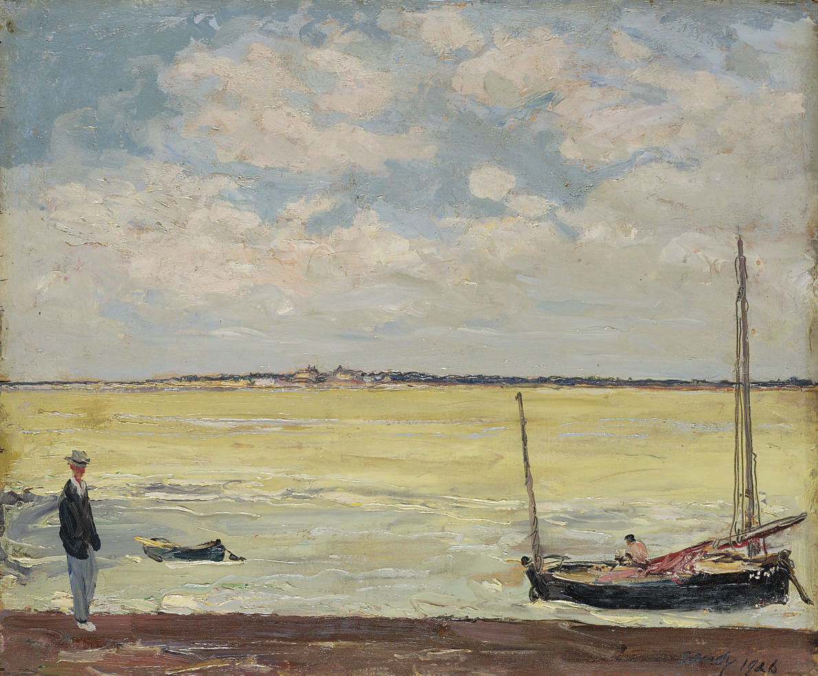 On the Somme, Flood Tide