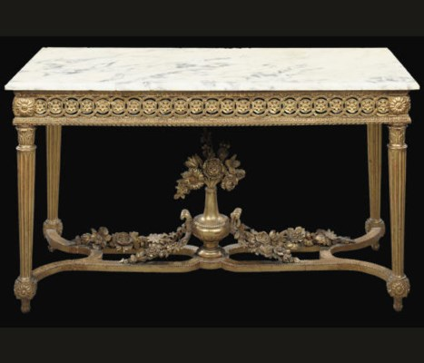 A NORTH ITALIAN PARCEL-GILT CO