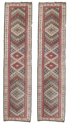 A PAIR OF NORTH WEST PERSIAN K