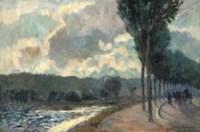La Seine à Boulogne, Billancourt
