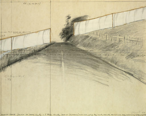 Running Fence (Project for Sonoma County and Marin County, State of California)