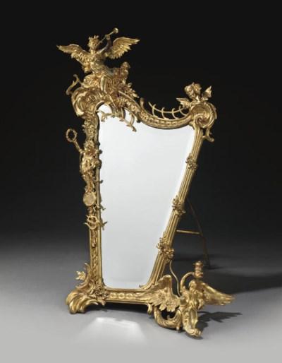 A FRENCH ORMOLU DRESSING-TABLE