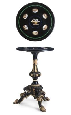 A ROMAN MICROMOSAIC TABLE TOP
