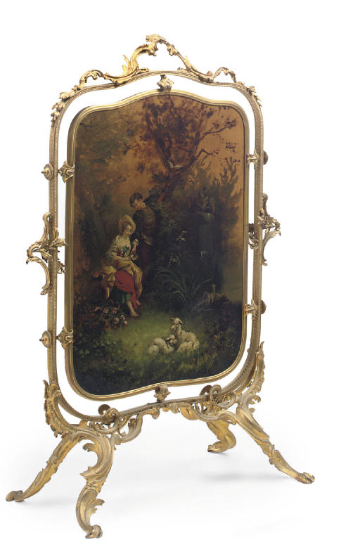 A FRENCH ORMOLU AND VERNIS MAR