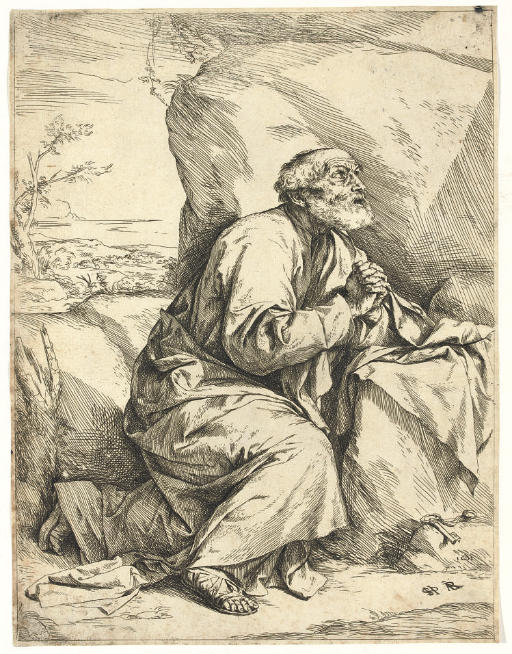 St. Peter, Penitent (B. 7; Brown 6 I)