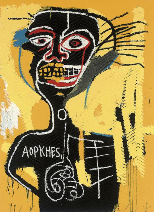 After Jean-Michel Basquiat