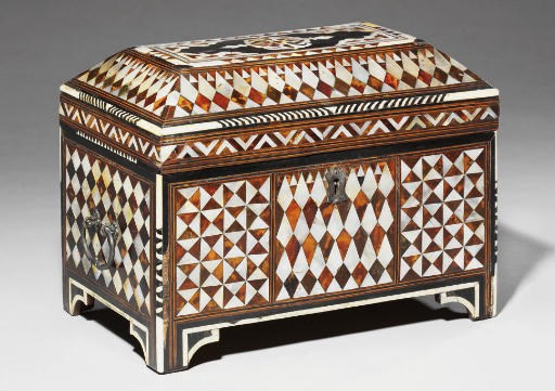 AN OTTOMAN MOTHER-OF-PEARL, TO