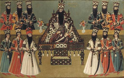 FATH 'ALI SHAH AND HIS IMMEDIA