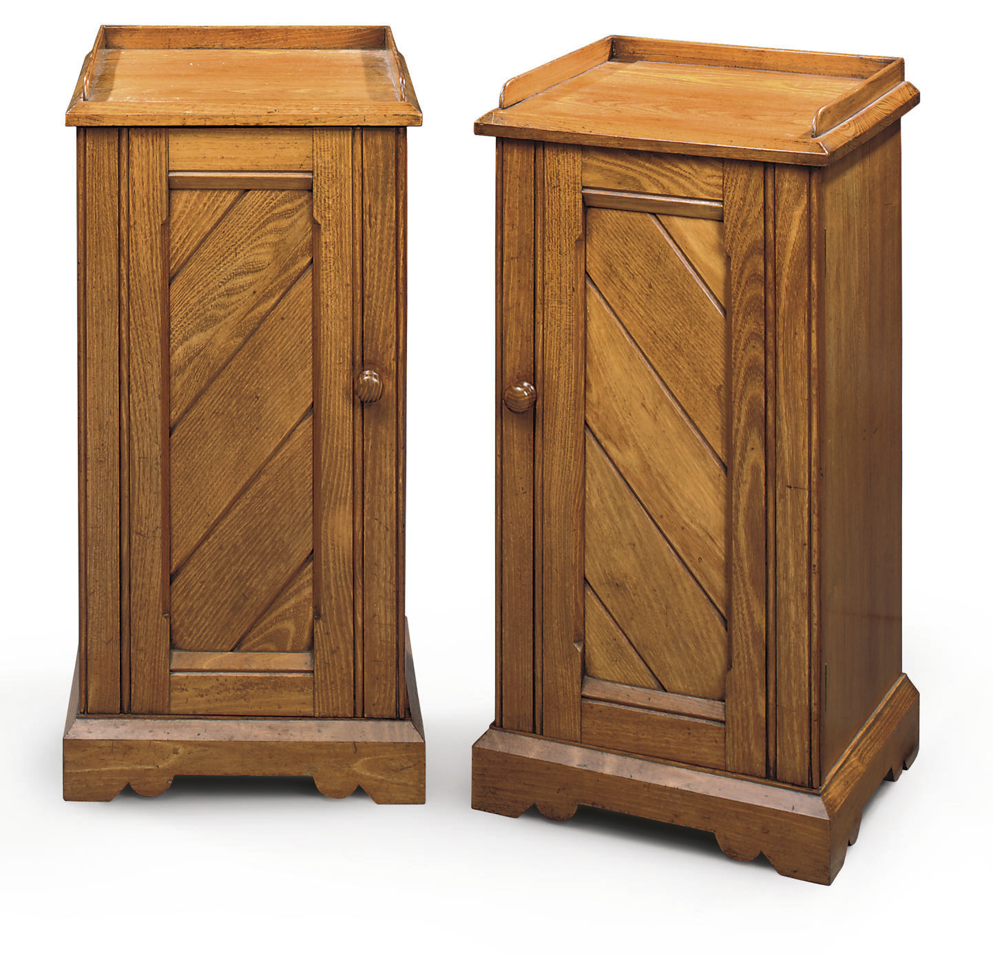 A PAIR OF LATE VICTORIAN TEAK