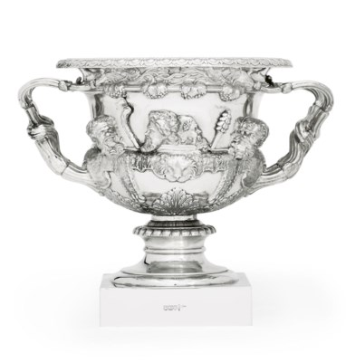 A GEORGE V SILVER MODEL OF THE