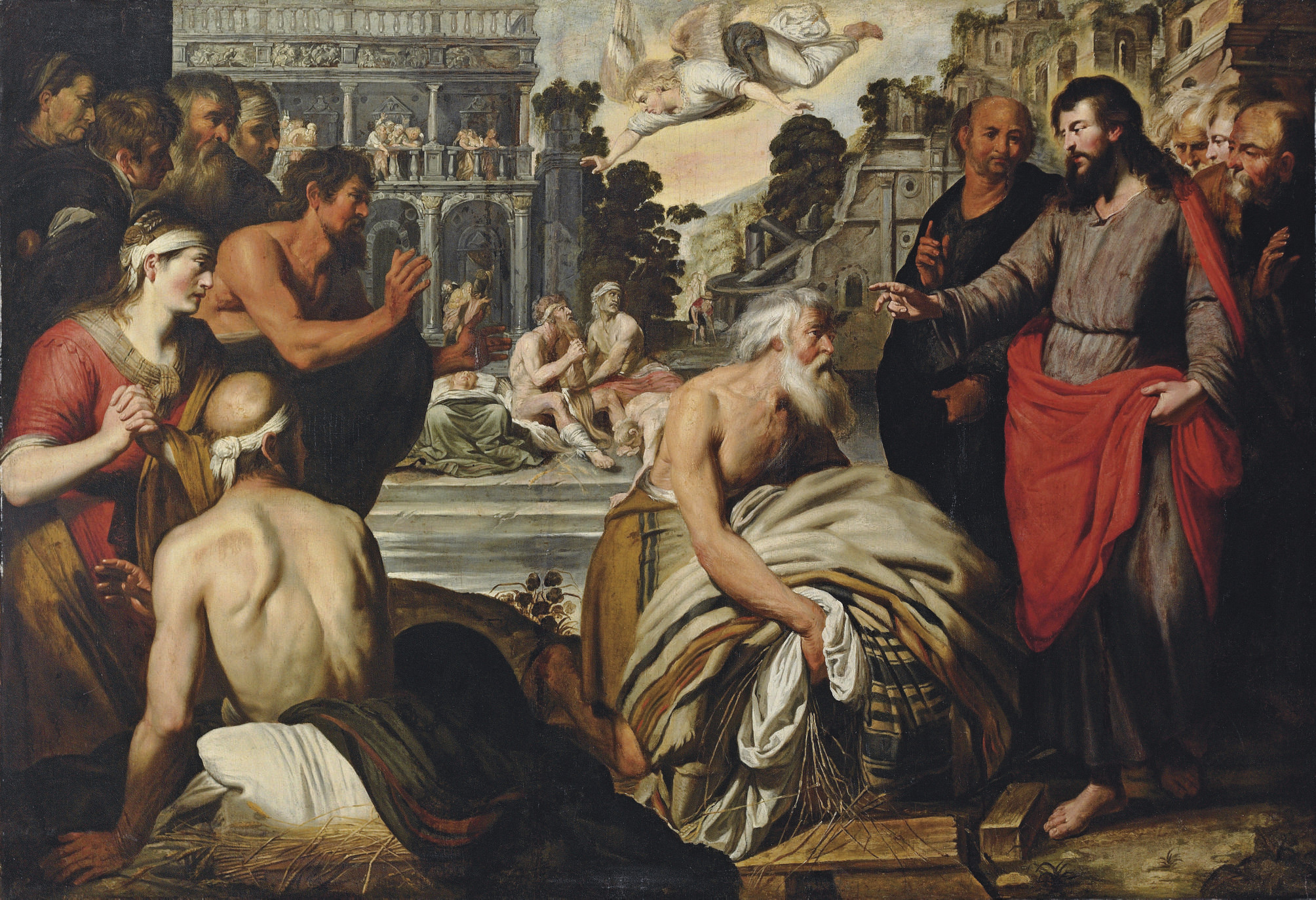 Christ at the Pool of Bethesda
