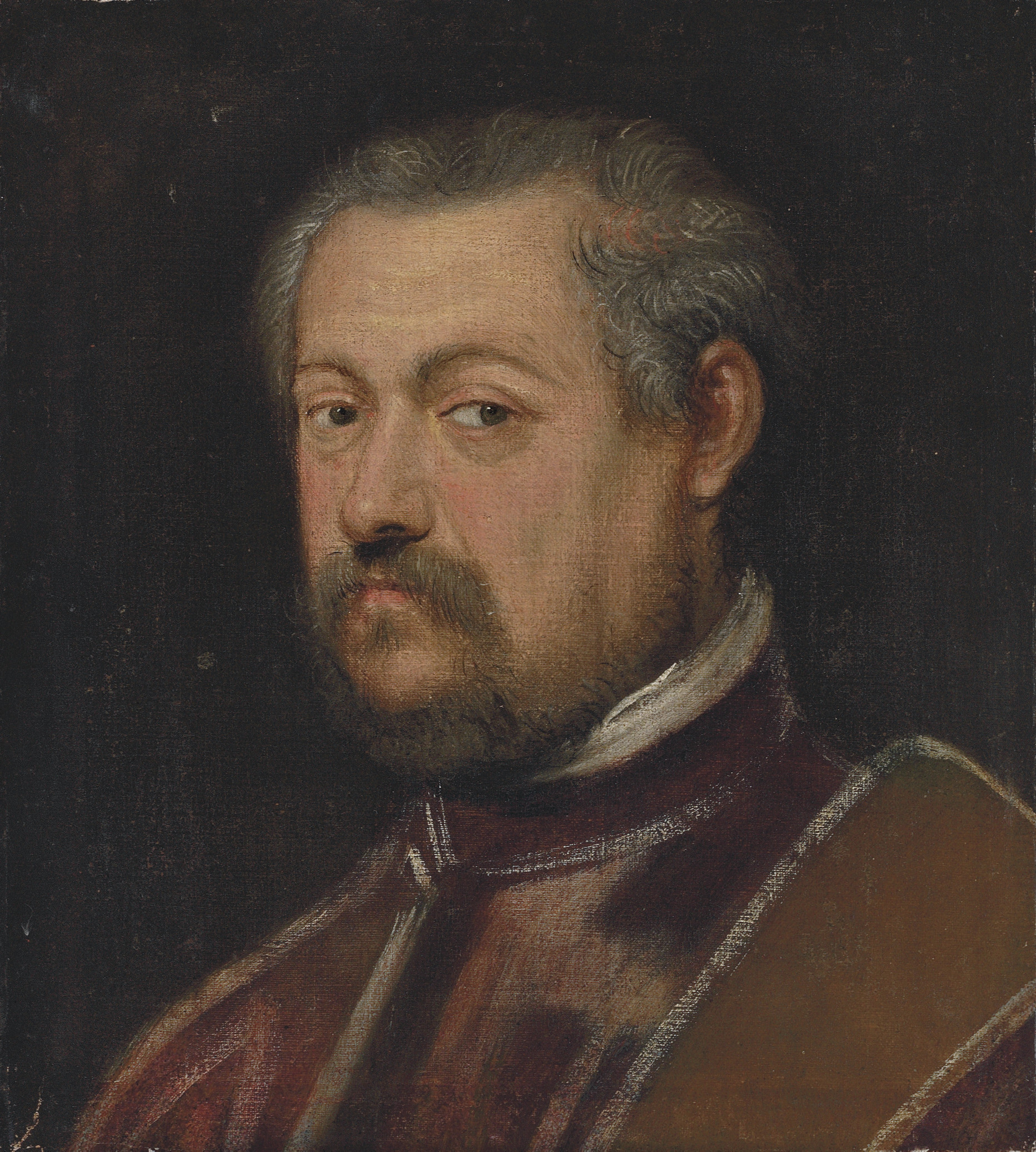 Portrait of a Venetian senator, bust-length