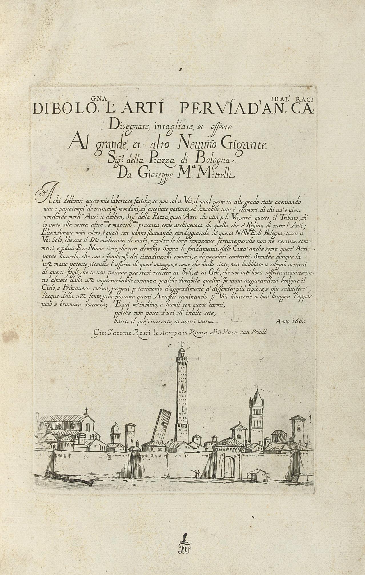 MITELLI, Giuseppe Maria (1634-