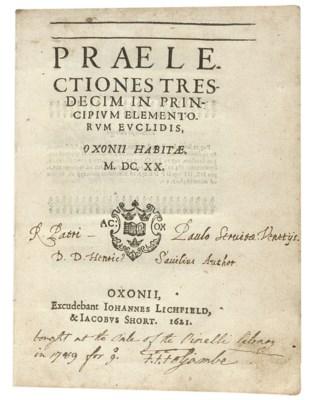 SAVILE, Henry (1549-1622). Pra