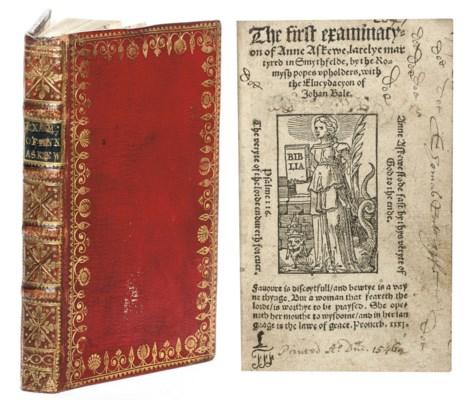 ASKEW, Anne (c.1521-46). The f