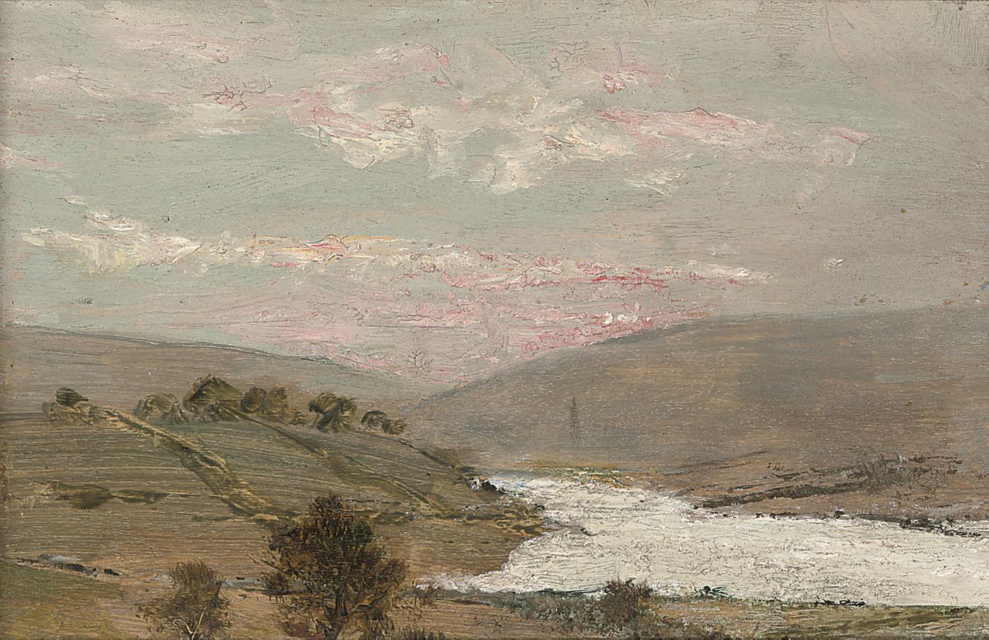 Autumn towards Letterkenny from Manor Cunningham