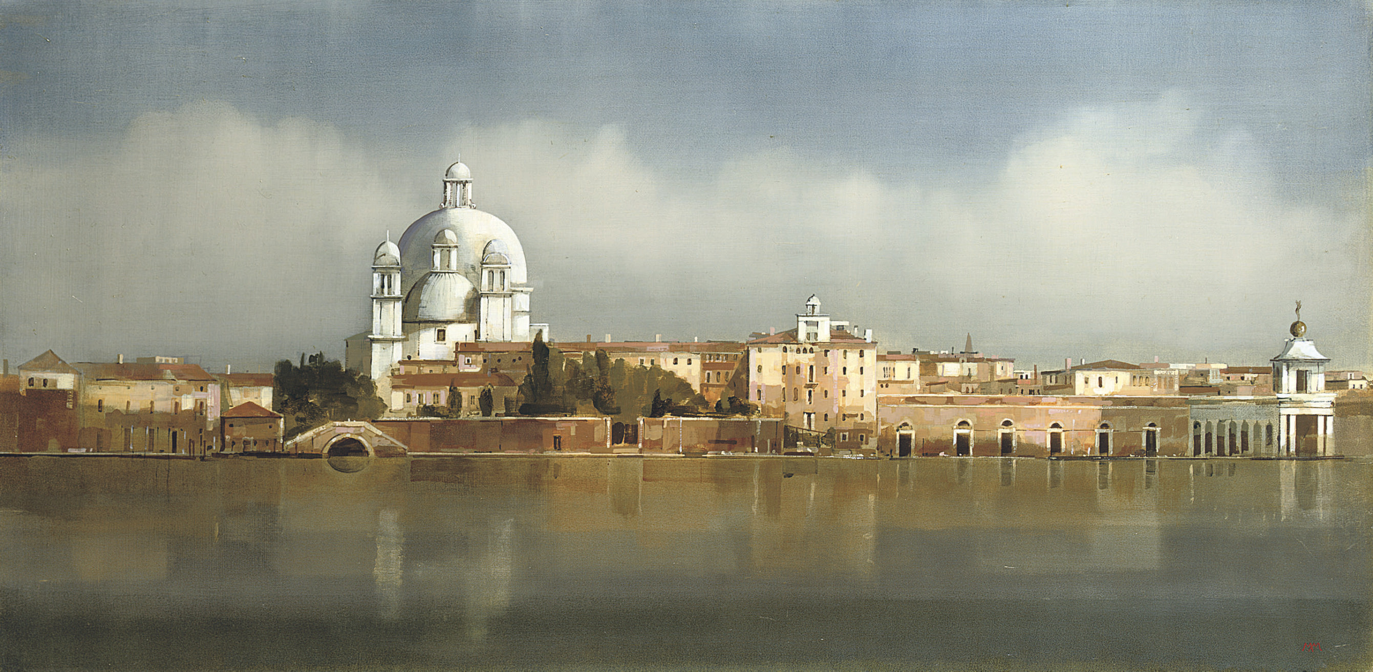 Santa Maria della Salute from the Redentore, Venice