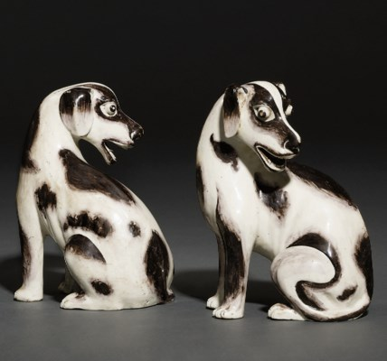 A PAIR OF RARE MODELS OF SEATE