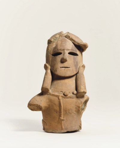 A Haniwa figure