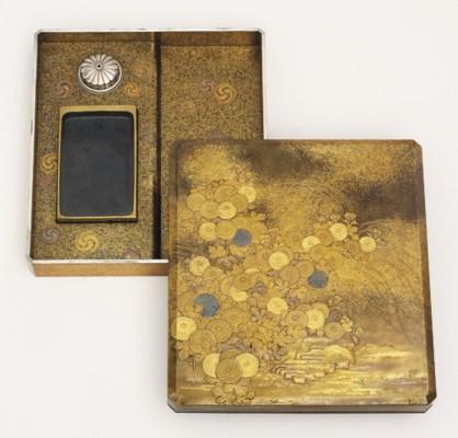 A suzuribako [writing box]