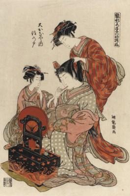 Isoda Koryusai (act. circa 176