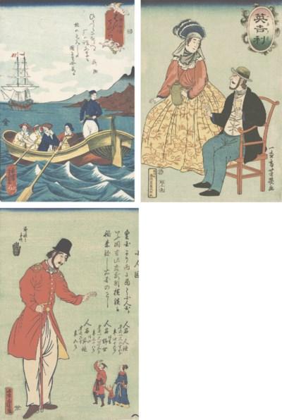 Utagawa Yoshitomi (active 1850