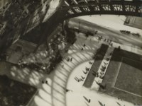 Shadows of the Eiffel Tower, before May 1929