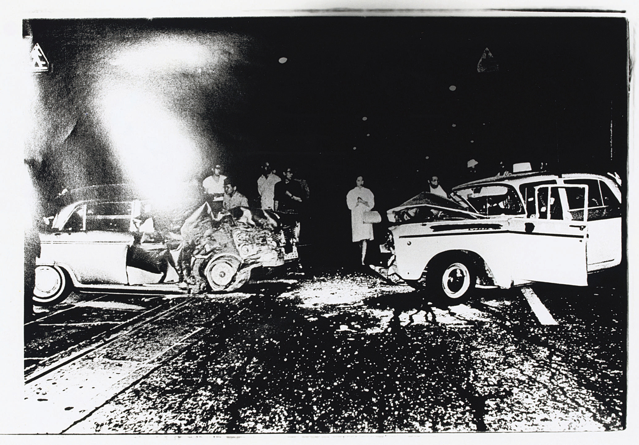 Smash-up from 'Accident', 1969