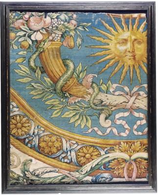 A LOUIS XIV SAVONNERIE CARPET