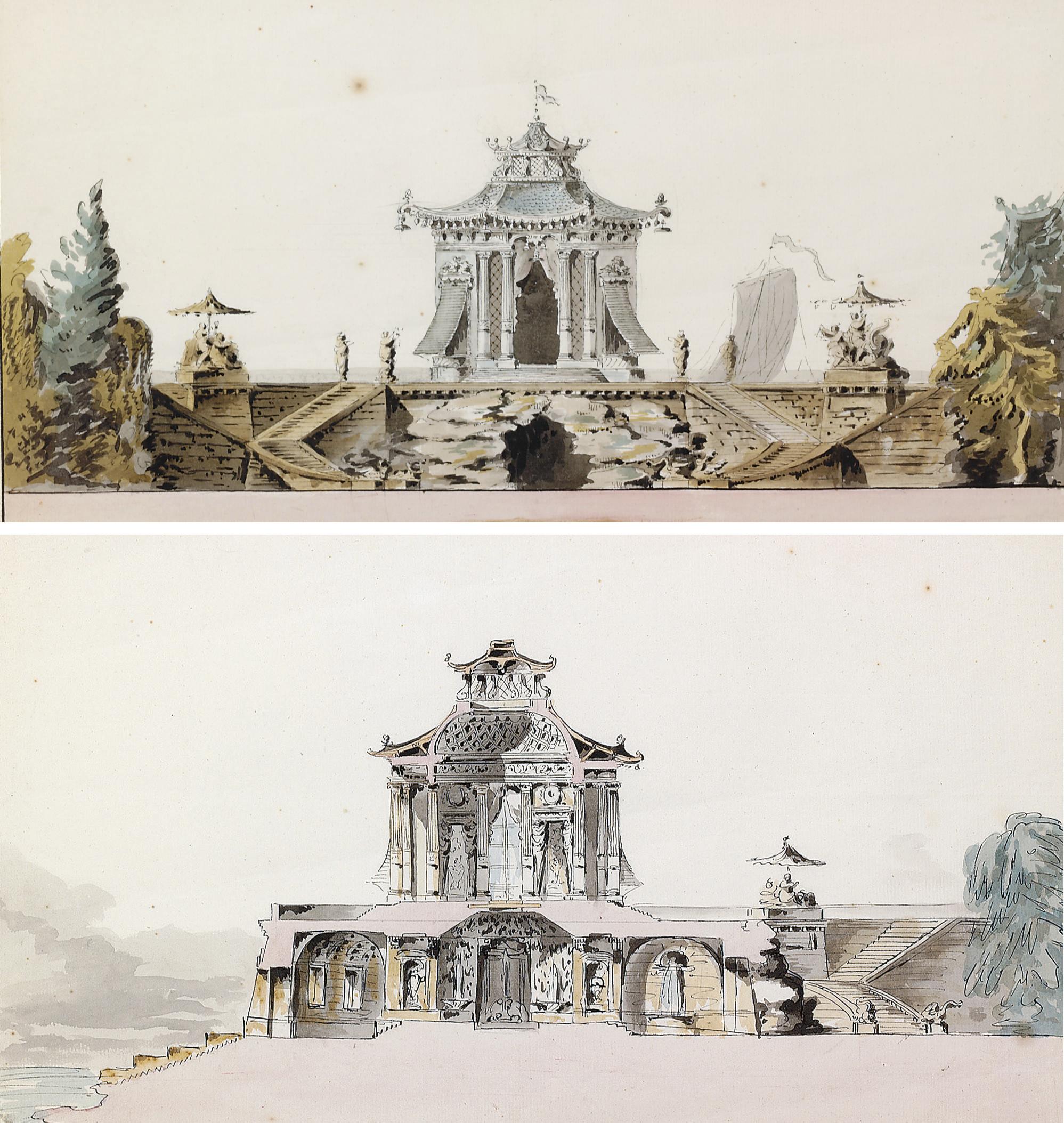 French School, circa 1783