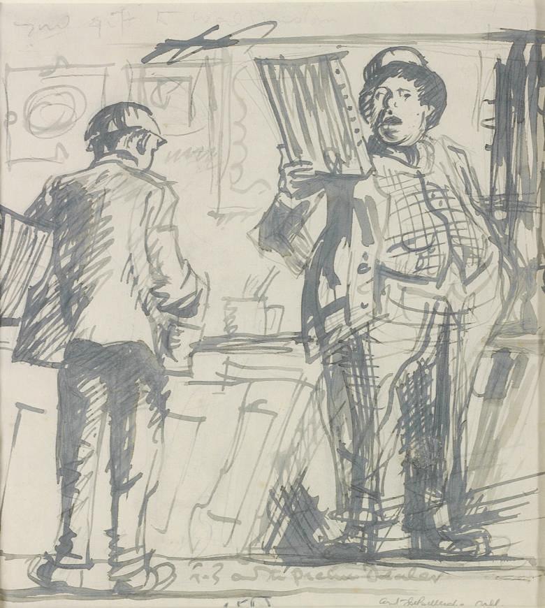 Sir Frank Brangwyn, R.A. (1857