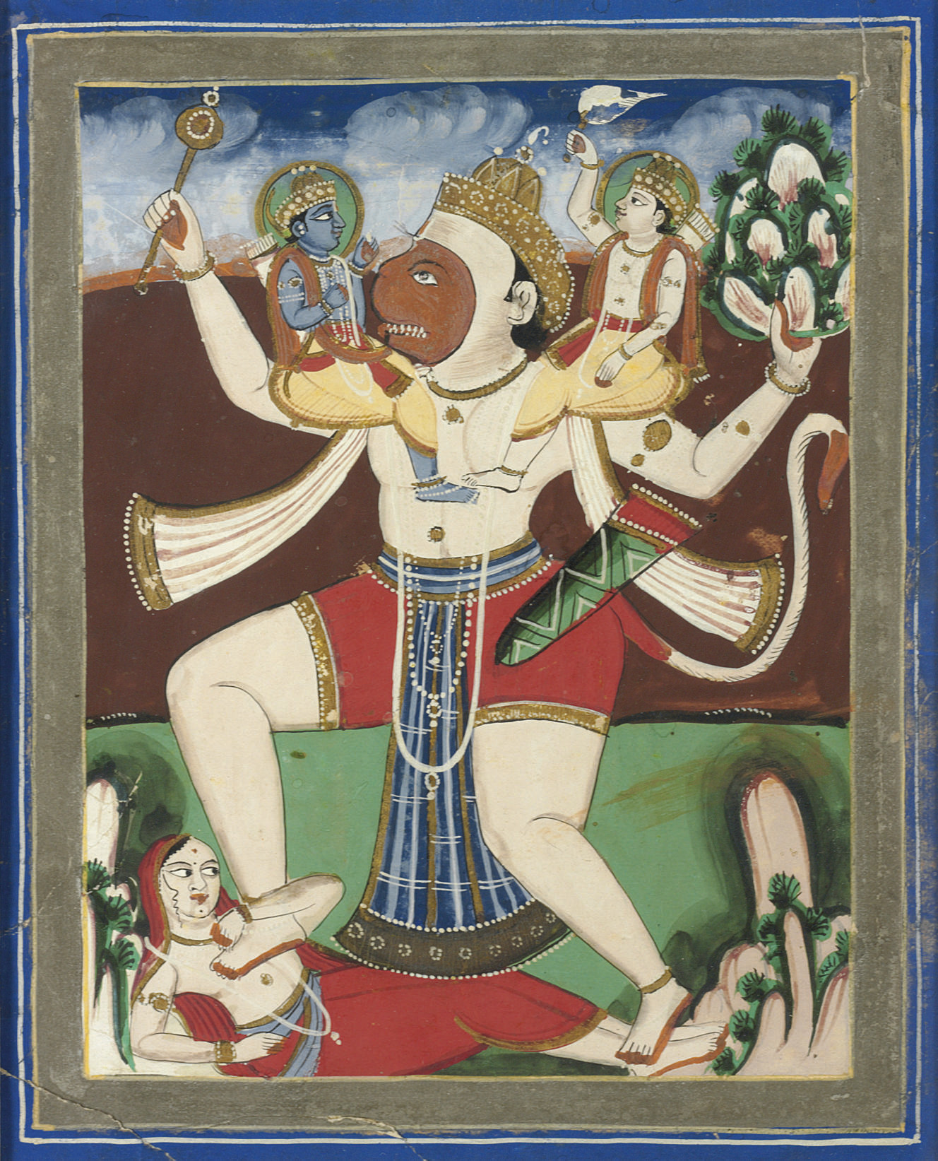The Cosmic Form of Hanuman