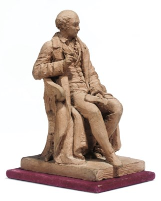 A FRENCH TERRACOTTA MAQUETTE O