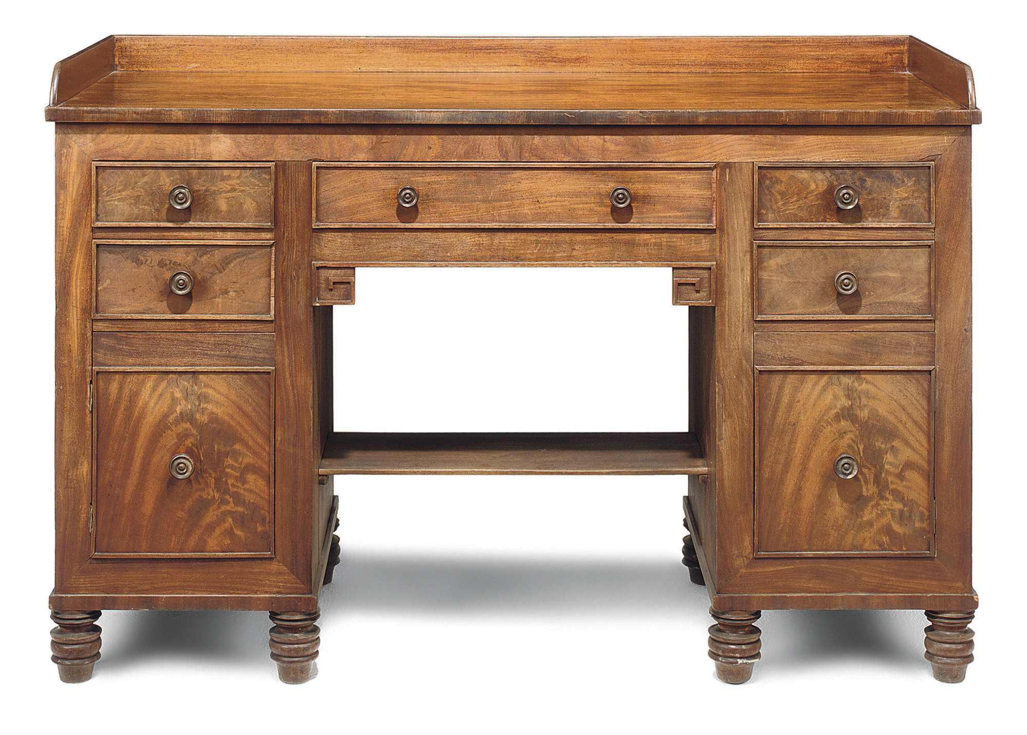 A SCOTTISH REGENCY MAHOGANY DRESSING TABLE