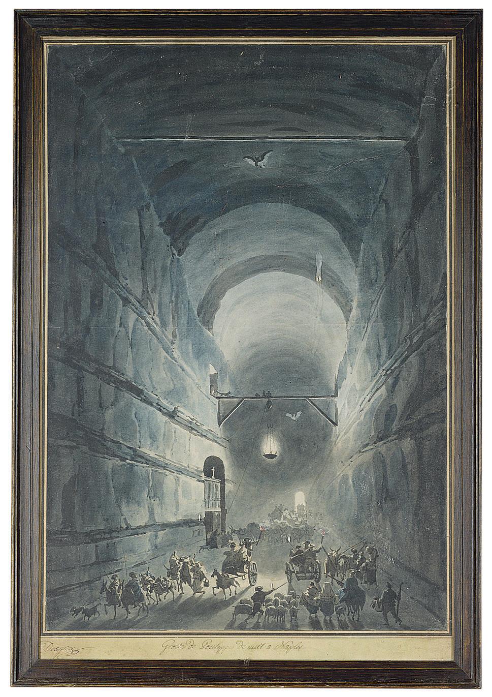 The Grotto of Posillipo, Naples