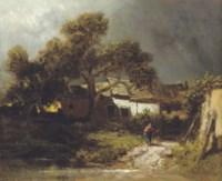 Alte Bauernhäuser: Rural landscape