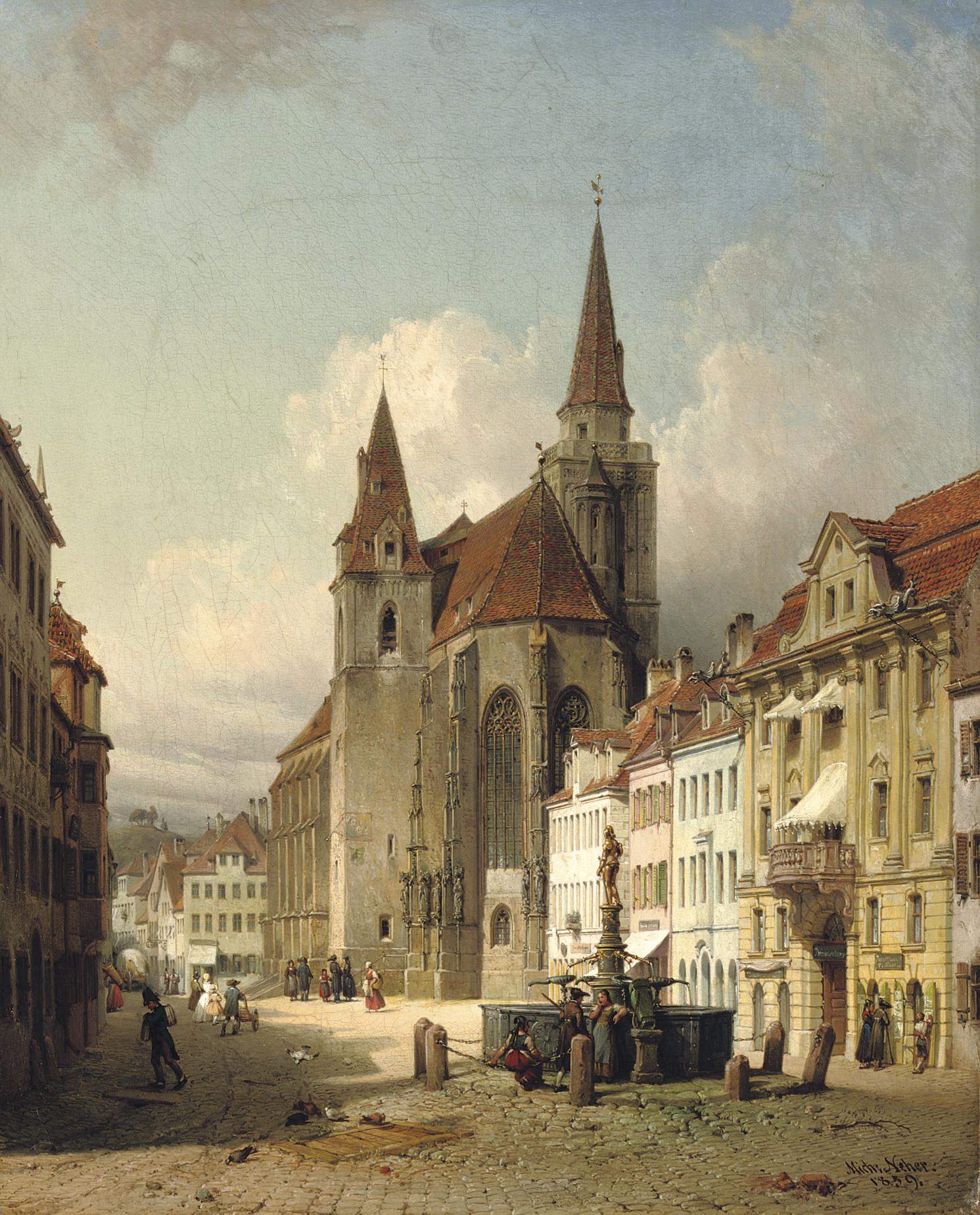 Michael Neher (German, 1798-18