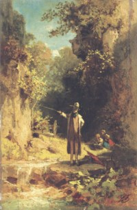 Der Angler: The fisherman