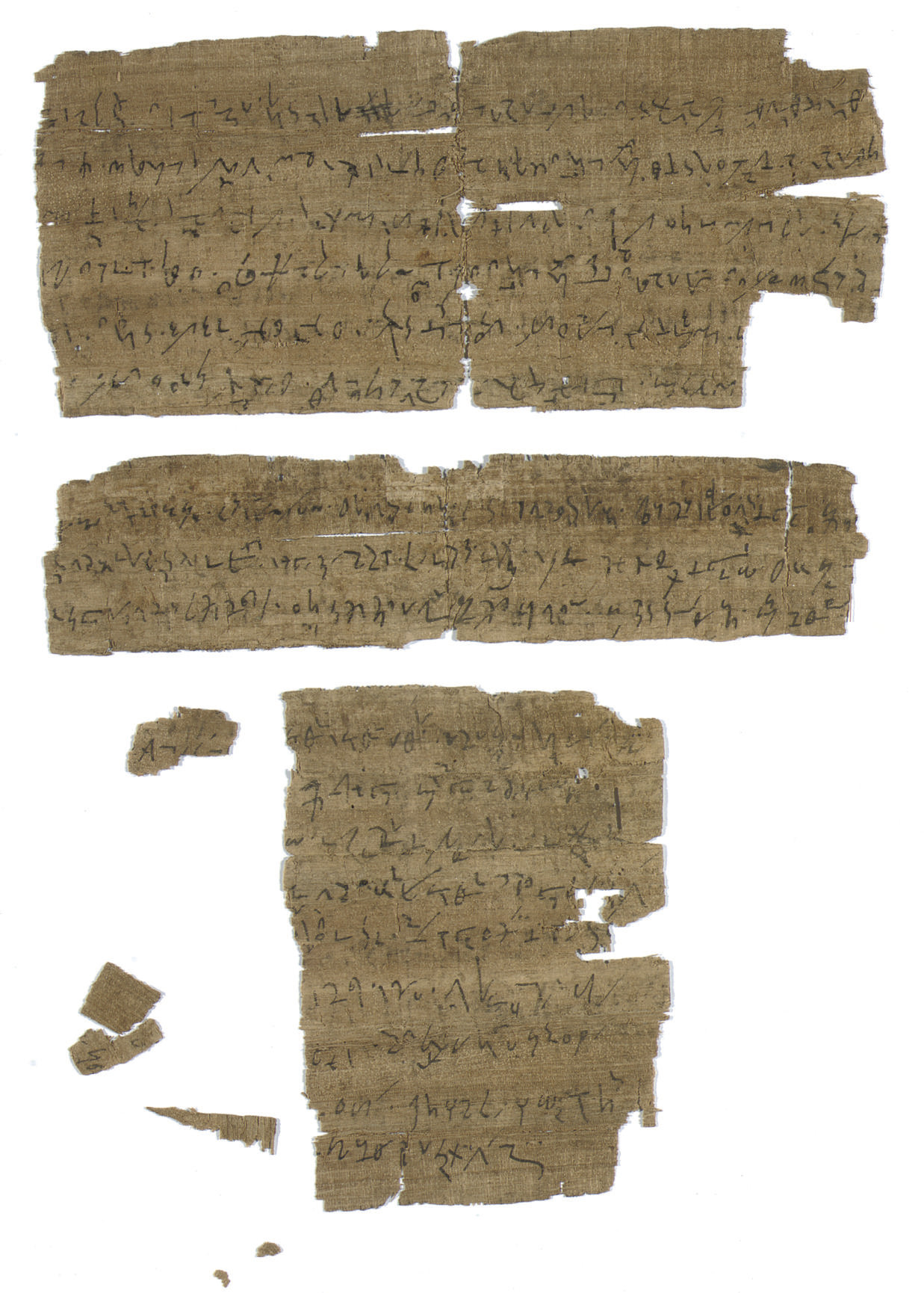 PAPYRUS, GREEK TACHYGRAPHY. Th
